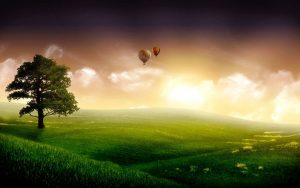 Nature Animated Wallpaper HD for Desktop Free Download with Beautiful Morning Picture