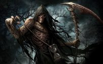 Artistic Grim Reaper HD Wallpaper for Desktop Background