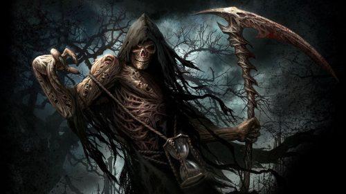 Artistic Grim Reaper HD Wallpaper for Desktop Background