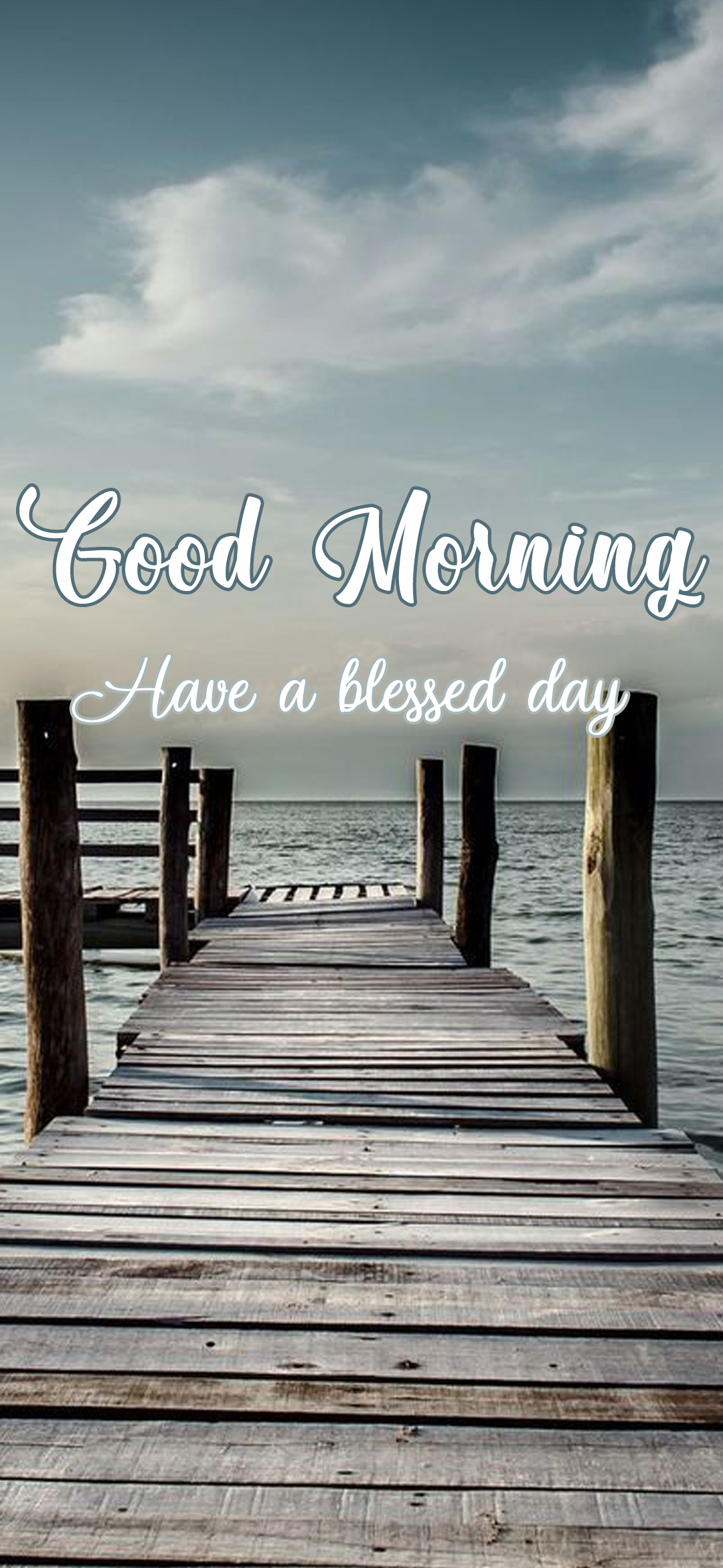 Good Morning Image with Have a Blessed Day Wish