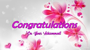 Images for Congratulations on The Achievement