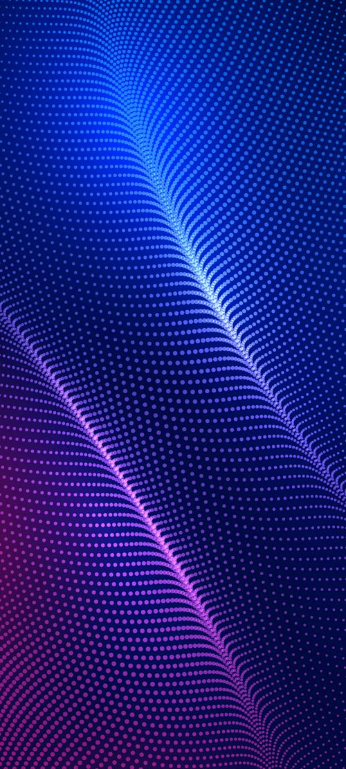 10 Best Pins on Pinterest for Your Samsung A Quantum - #06 – Dots Pattern on Blue Background