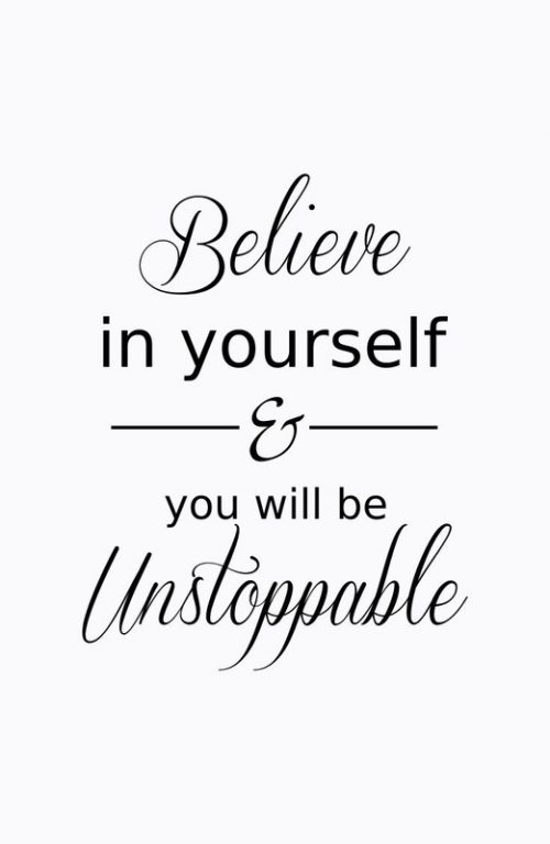 20 Best Thoughts of Friday and Inspiring Quotes 01 - Believe in yourself