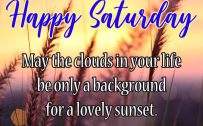 20 Best Saturday Thoughts and Short Quotes Wallpapers 03 - Background for a lovely sunset