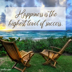 20 Best Thoughts of Friday and Inspiring Quotes 02 - Happiness is the highest level of success