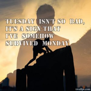 20 Motivational Quotes and Tuesday Thought Wallpapers 02 - Tuesday isn't so bad