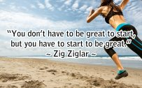 20 Best Monday Thought Quotes Wallpaper 02 - You don't have to be great to start