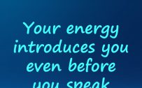 20 Best Short Quotes and Sunday Thought Wallpapers 03 – Your energy introduces you