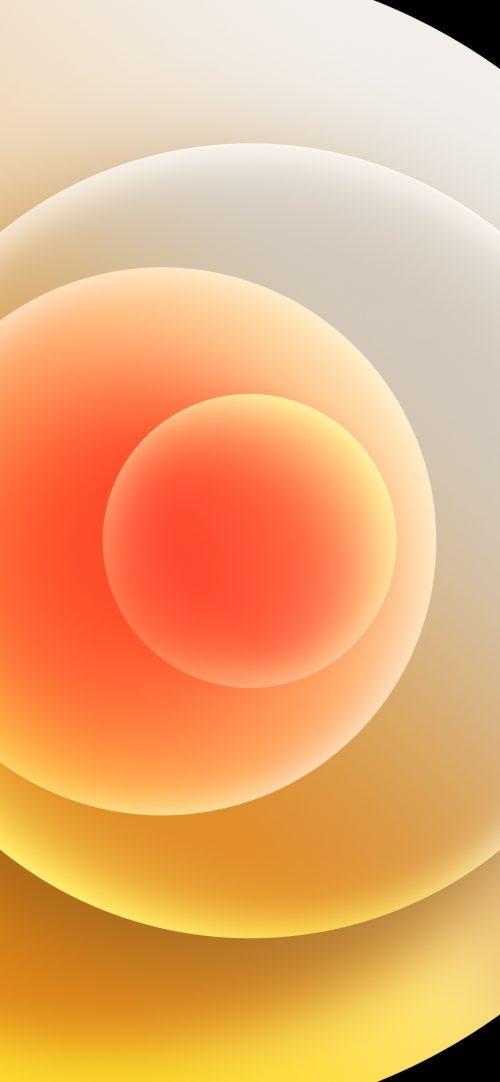 Apple iPhone 12 mini - iPhone 12 Pro - iPhone 12 Pro Max - iPhone 12 Wallpaper 10 - White Light