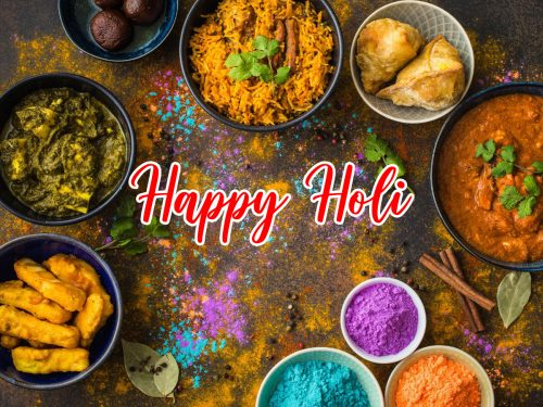 Happy Holi Backgrounds Free Download