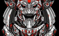 Badass and Cool Wallpapers for Mobile Phones 03 of 20 - Indian Mecha
