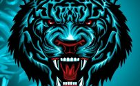 Badass and Cool Wallpapers for Mobile Phones 06 of 20 - Tiger Head